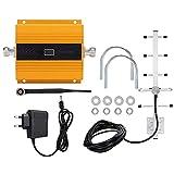 Kit de amplificador de señal, AC 110-240V Amplificador de señal de teléfono móvil...