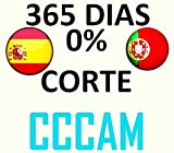 12 Mes CCCAM 1 año Europa, España 2 Cline suscripción HD Wifi DVB-S2 todos los...