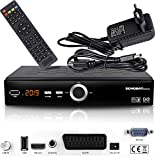 Receptor de satélite Digital Echosat 20900 M (HDTV, DVB-S/S2, HDMI, SCART, 2 Puertos USB...