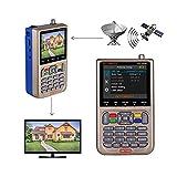 GT MEDIA V8 Satfinder Meter Localizador de señal de satélites Digital Buscador de...