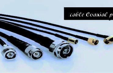 cable Coaxial para Exterior