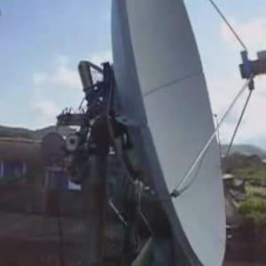 Antenas parabolicas motorizadas